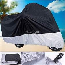 UV Protector Waterproof Outdoor Motorbike Rain Dust Bike Motorcycle Cover XXL