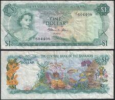 Bahamas P 35 b - 1 Dollar 1974 - VF