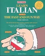 Learn Italian the Fast and Fun Way by Danesi, Marcel