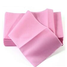 10Sheet Pink Soft Disposable Massage Bed Flat Table Cover Sheet Set for Home C10