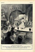 """Die berühmte Tänzerin Mlle.Polaire als """"Estrella"""" in einem span.Tanzhaus 1909"""