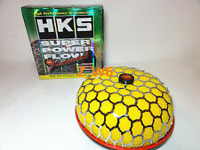 HKS 80mm 3 inch Air Inlet Filter Yellow JDM Super Power Flow Reloaded Kit 200MM