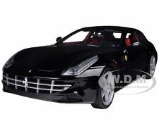 FERRARI FF BLACK 1/18 DIECAST MODEL CAR BY HOTWHEELS X5526