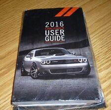 2016 DODGE CHALLENGER USER GUIDE OWNERS MANUAL SET 16 SRT 392 HELLCAT +case NEW