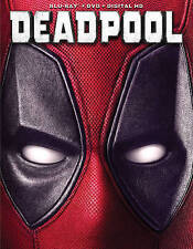 Deadpool Blu-ray/DVD, 2016, 2-Disc Set, Includes Digital Copy Holiday Photo Card