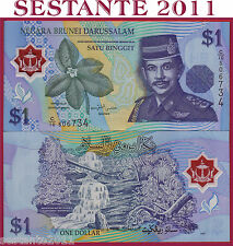 BRUNEI 1  RINGGIT  POLYMER   1996   P. 22a         FDS / UNC