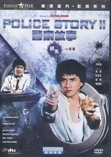 Police Story 2 DVD Jackie Chan Maggie Cheung Bill Tung NEW R3 Eng Sub Remastered
