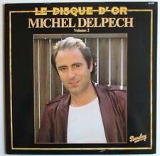 DISQUE 33 TOURS 12 TITRES MICHEL DELPECH disque d'or volume 2