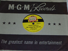 JOHNNIE JOHNSTON Why Should I Cry Over You / How Lucky You Are MGM 10098 VG+