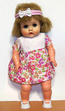 """1960s Horsman 14"""" Vinyl Doll with One-Piece Body - GUC"""