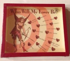 NEW Who Will My Lover Be? by Heather Ramsay 1999 Prediction Game Box. Starbucks