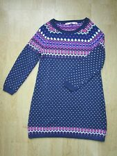 Girls Stunning Knitted Dress by John Lewis Age 7 Years **Excellent Condition**