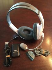 XBOX 360 ☆ WIRED HEADSET & NiMH BATTERY PACK & CHARGER ☆ TESTED & SHIPS TODAY!