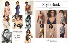 2 INTIMISSIMI STYLE BOOK lingerie knitwear catalog catalogo spring+summer NEW