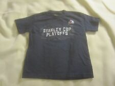 2008 youth small 2008 Colorado Avalanche playoff t shirt navy blue ~ 1315