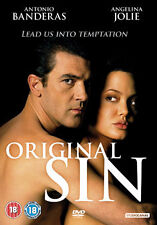 ORIGINAL SIN - DVD - REGION 2 UK