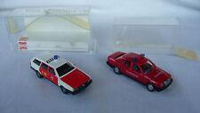 1:87  H0  Busch 48110 VW Passat FW Osnabrück + Wiking 16600 MB 260 FW