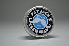 Fat Jacks Tash Wax - Moustache Wax 15ml Tin UNSCENTED UK MADE Mustache Movember