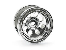 Hpi 3213 Rock 8 Bead Lock Wheel Chrome (55x36mm/x2) [ Rock Crawler 2.2 Ruedas ]