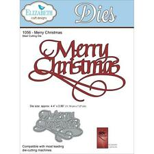 Quietfire Elizabeth Craft Merry Christmas Die Wafer Thin EC1056