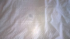 tissu broderie anglaise col blanc 100% coton 50x140 cm