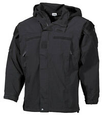 US PCU Combat Outdoor Soft Shell Jacke Jacket black schwarz Level 5 Gr. L  Large