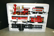 1986 NEW BRIGHT #0815C 'CAMPBELL'S SOUP' TRAIN SET 'PREMIUM' WITH BOX WORKS!