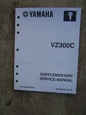 2003 Yamaha Outboard Motor VZ300C Service Manual Supplement MORE IN OUR STORE  U