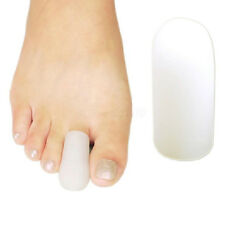 2Pcs Silicone Gel Separator Toe Caps Protector Bunion Blisters Corns Pain Relief
