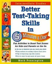 Better Test-Taking Skills in 5 Minutes a Day: Fun Activities to Boost Test Score