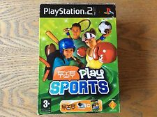 Ps2 Eye Toy Play Sports Complete! Look In The Shop!