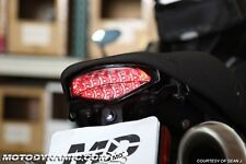 09 10 11 12 13 14 Ducati Monster INTEGRATED Turn Signal LED Tail Light SMOKED