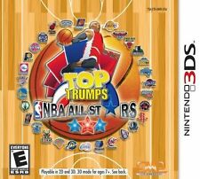 Top Trumps NBA All Stars RE-SEALED Nintendo 3DS 3 DS 2 2DS GAME BASKETBALL