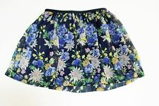 Ralph Lauren Girls Floral Skirt Navy Multi Sz XL (16) - NWT