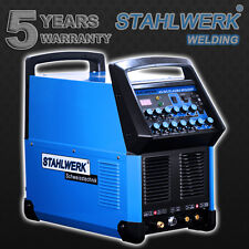 WELDER STAHLWERK AC/DC TIG 200 PULSE and PLASMA CUTTER S - HF INVERTER WELDING