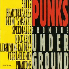 PUNKS FROM THE UNDERGROUND Heartbreakers Snivelling Sh*ts Hot Rods rare sessions