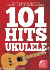 101 Hits for Ukulele The Red Book Chord & Melody Songbook EASY ED SHEERAN SONGS
