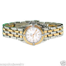 BREITLING Callistino D52045 .1 Ladies 18K Gold & Stainless Steel Watch Pre-Owned