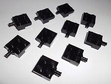 Lego (4488) 10 halbe Achsen 2x2, in schwarz aus 3185, 7635, 7990, 3186