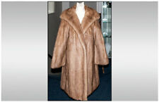 Three Quarter Length Honey Blonde Mink Coat -   wonderful quality -- odour free