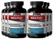 L-Arginine Powder - Maca Plus Complex 1275mg - Testosterone Gel Pills 6B