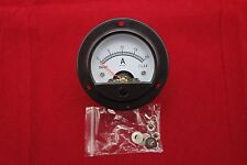 1pc AC 0-20A Round Analog Ammeter Panel AMP Current Meter Dia. 66.4mm DH52