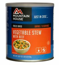 Vegetable Stew with Beef #10 Can - Mountain House Freeze Dried Survival Food