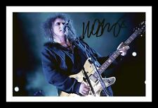 ROBERT SMITH AUTOGRAPHED SIGNED & FRAMED PP POSTER PHOTO