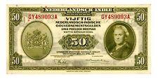 Netherlands Indies ... P-116 ... 50 Gulden ... 1943 ... *AU*