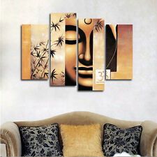 Abstract Canvas Print Buddha Painting Reproduction Home Decor Wall Art Framed