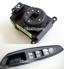 Folding Mirror Remote Control Switch Handle Cover For KIA Rio 4D 5D 2012-2014
