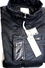 New DIESEL Thalia Black Jacket Men Size Medium $198.00