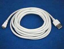 3M 10ft WHITE LONG THICK Micro USB cable for BlackBerry Z10 Q10 Bold Curve Torch