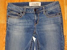 STUDDED FAME CALIFORNIA BOOT CUT BLUE JEANS WOMEN'S SIZE 11 - GREAT!